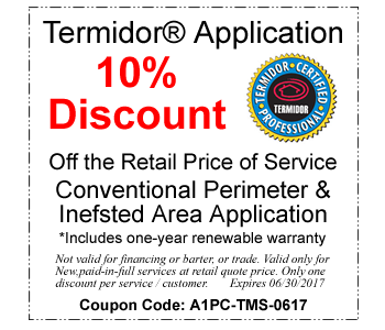 Termidor Treatment Coupon